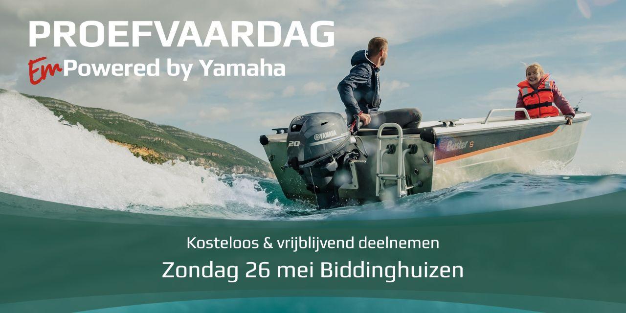Yamaha proefvaardag